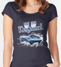 NOT THE KINGSWOOD! TEE Women's Fitted Scoop T-Shirt