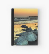 Sea Foam on the Beach Hardcover Journal