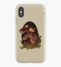 Vinilo o funda para iPhone Dinosaur Eats Man
