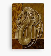 TANGAROA - God of the Sea Canvas Print