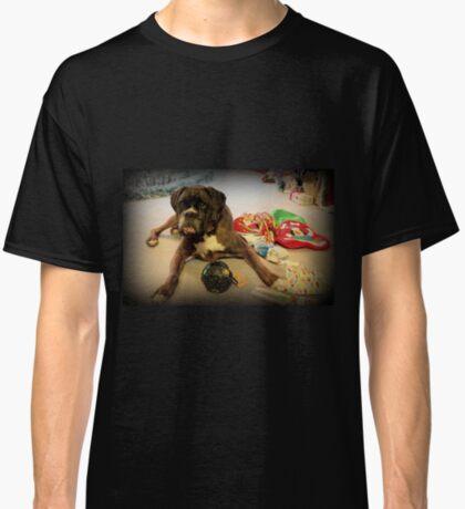 Ist das ein anderes Weihnachtsgeschenk für mich? - Boxer-Hunde-Reihe Classic T-Shirt