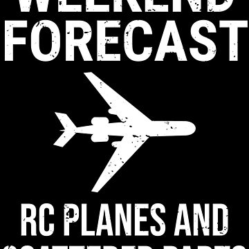 Weekend Forecast Funny Pilot Airplane T-shirt by zcecmza