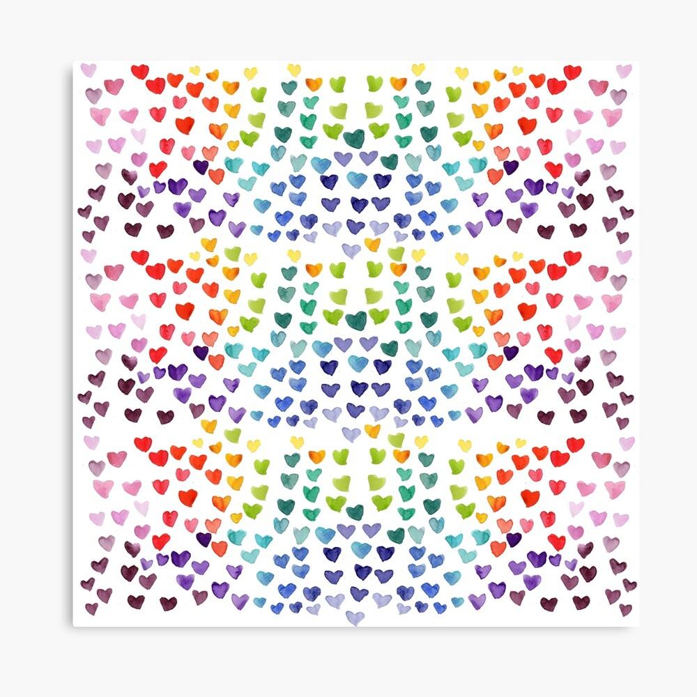 I Heart You Canvas Print