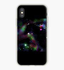 Vinilo o funda para iPhone Nebulosa cabeza de caballo