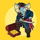 Ganesha Pirate by artkarthik