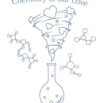 Flask, hearts tornado, love message. Feeling, mood by aquamarine-p