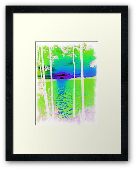 Green-Available As Art Prints-Mugs,Cases,Duvets,T Shirts,Stickers,etc by Robert Burns