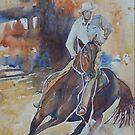 Working Horse by scallyart