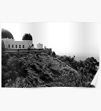 GRIFFITH OBSERVATORY - LOS ANGELES Poster