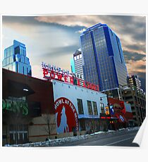 Cityscapes - Power & Light District Poster