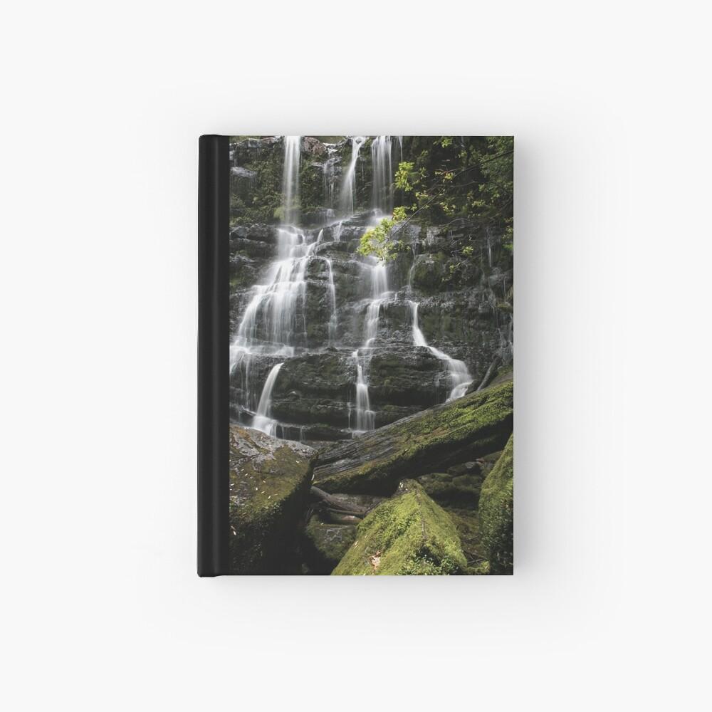 Nelson Falls, Tasmania, Australia Hardcover Journal