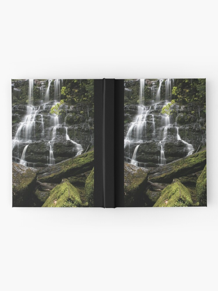 Alternate view of Nelson Falls, Tasmania, Australia Hardcover Journal