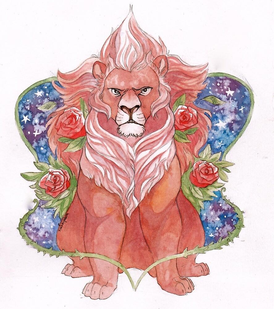 Steven Universe (Lion) by wanlingnic