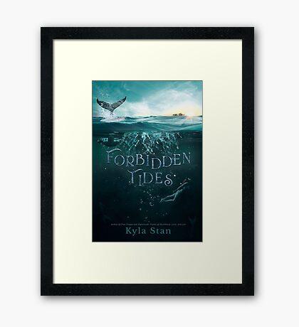 Forbidden Tides Cover Art Framed Print