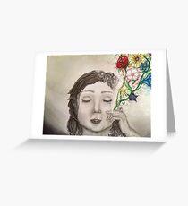Depression Greeting Card