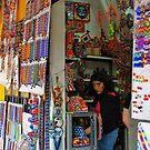Market in Mexico City by Elena Vazquez