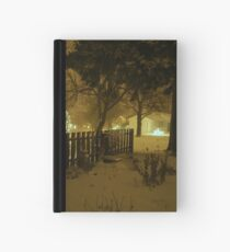 """Snowstorm"" Hardcover Journal"