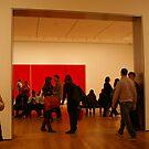 Museum Crowd by Elena Vazquez