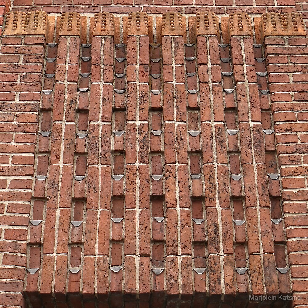 Beautiful brick - Meelfabriek Friso, detail by Marjolein Katsma