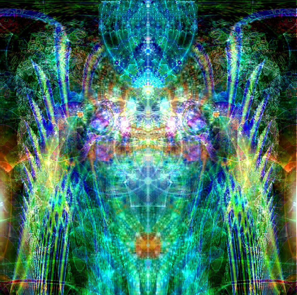 Photonic communication with light being by Bill Brouard