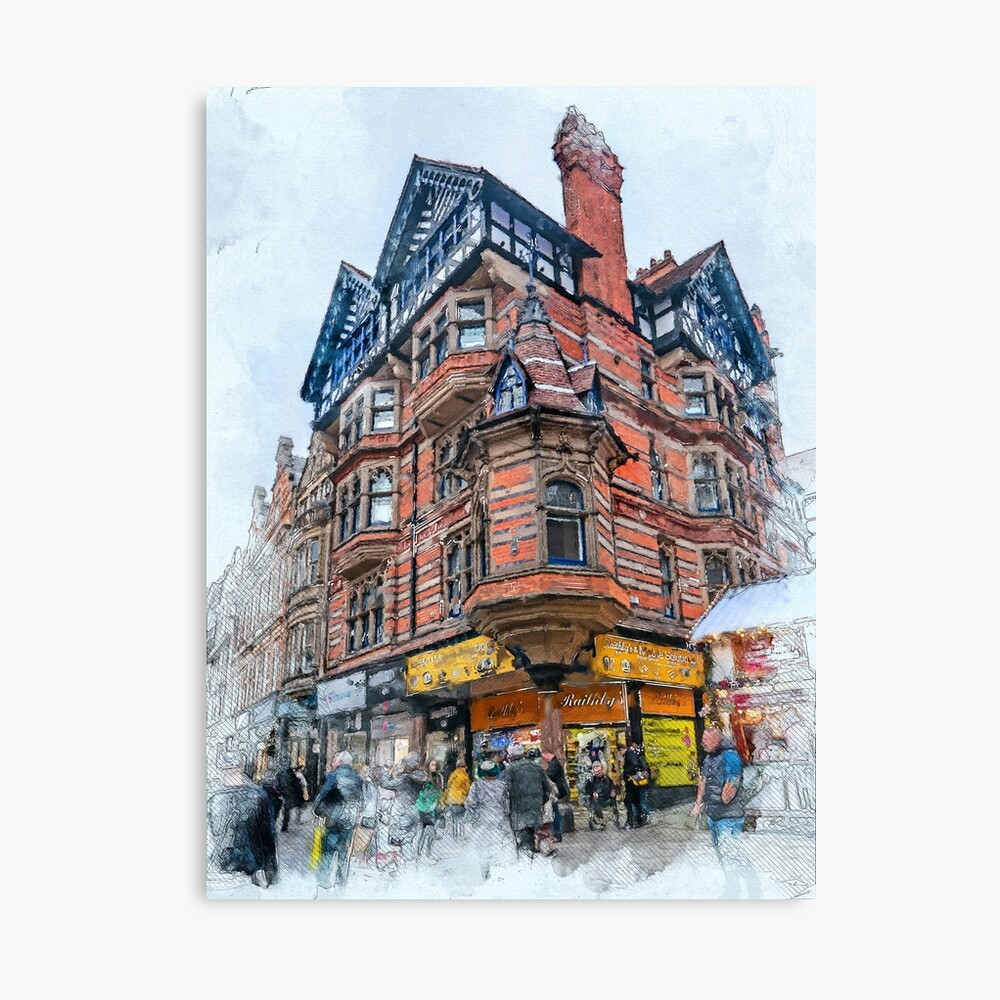 Nottingham art #nottingham Canvas Print