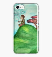 Hobbit Smoking Old Toby iPhone Case/Skin