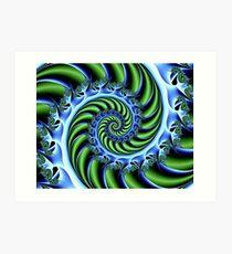 Spiralific Art Print