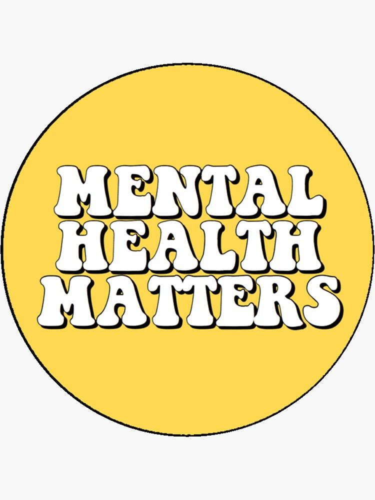 Psychische Gesundheit ist wichtig von MaddieMJF