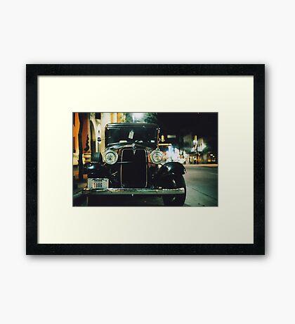 TX Framed Print