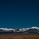 Nighttime Over the Mountains by Gary Lengyel
