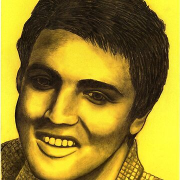 Elvis Presley celebrity portrait by mags0412