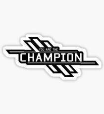 Apex Legends Champion You are the champion Sticker