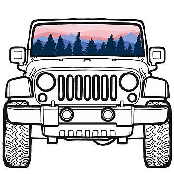 Jeep Sunset Pines de abbyconnellyy