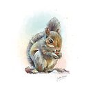 PCD2637-SQUIRELL-A3 by Jackie Werner