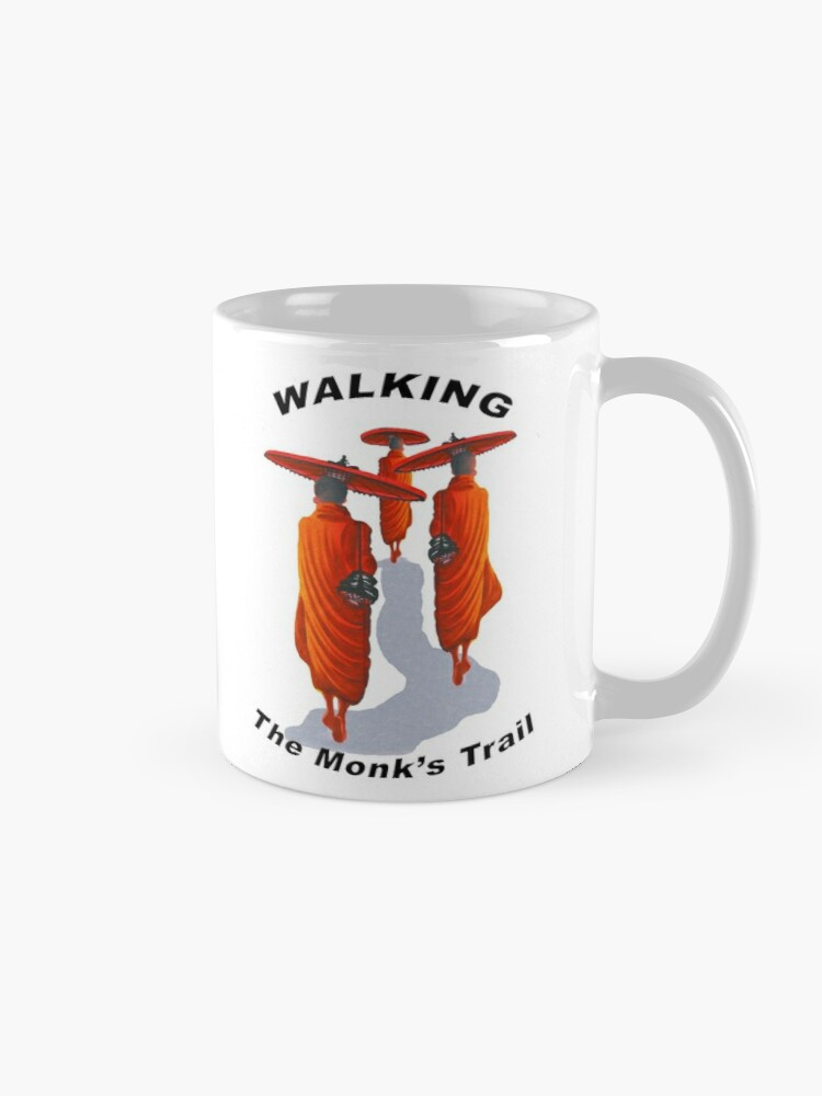 Alternate view of Walking The Monk's Trail Mug