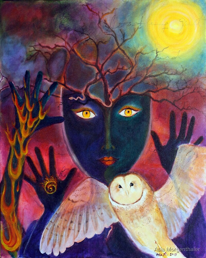 Winter Solstice by Asia Morgenthaler