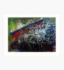 Cargo Gone Tropo Art Print