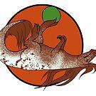 « Tyranotaure alezan capé tâcheté » par ScotisFr