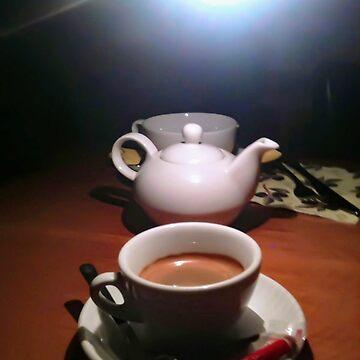 Coffee cup and tea pot by 8kPzGZjJ20Rj