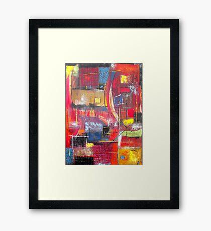 The Climb Framed Print