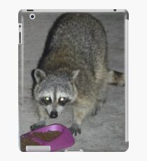 Raccoon's Full Bandito Image iPad Case/Skin