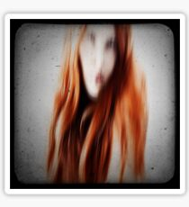 Red head girl Sticker