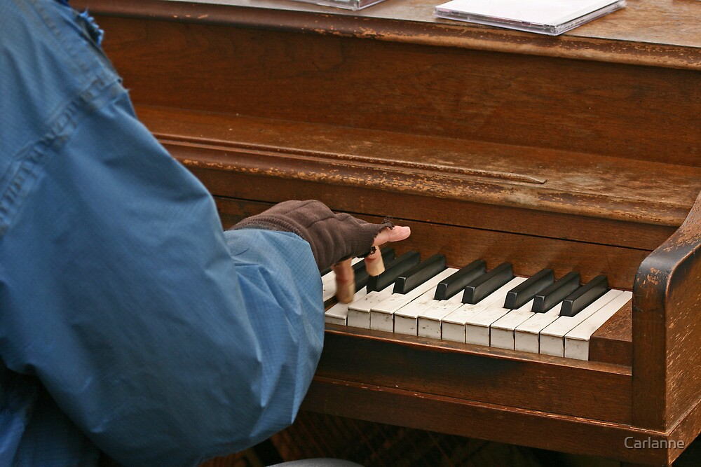 Play it again, piano man by Carlanne