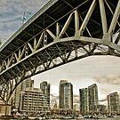Granville Bridge by Wanda Staples