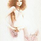 """Desiere"" Oil on Canvas by Sara Moon"