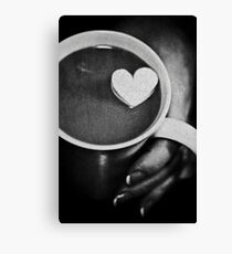 love in a cup ........ Canvas Print