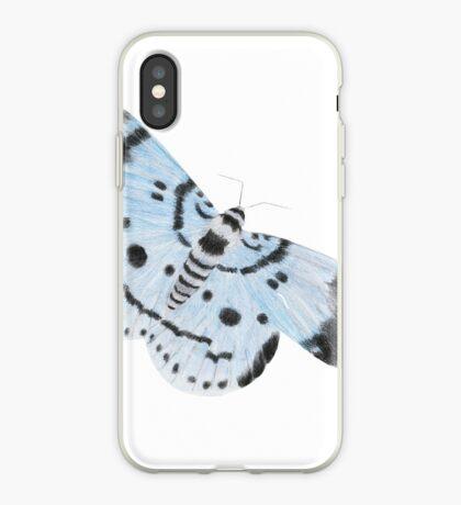 Blue Tiger Moth iPhone Case