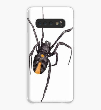 Red Back Spider Case/Skin for Samsung Galaxy