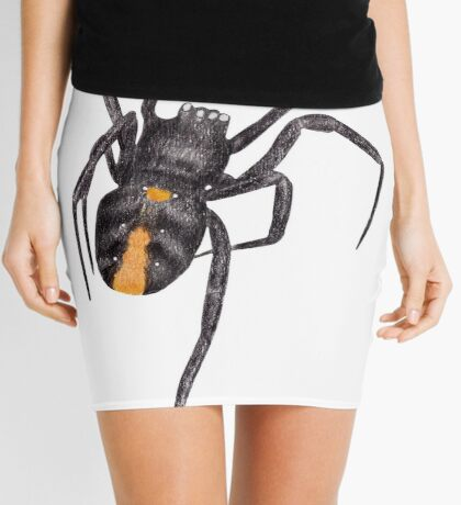 Red Back Spider Mini Skirt