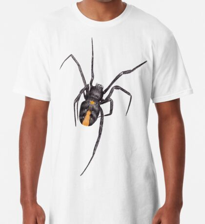 Red Back Spider Long T-Shirt